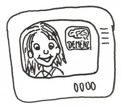 Eine Fernsehsendung über Demenz.