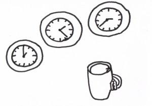 Abwarten und Teetrinken als Bilderrätsel