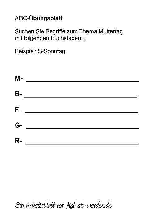 abc-arbeitsblatt-muttertag