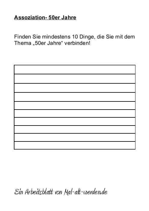 arbeitsblatt-assoziation-50er-jahre