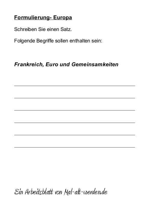 arbeitsblatt-formulierung-europa
