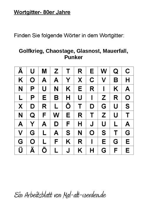 wortgitter-80er jahre