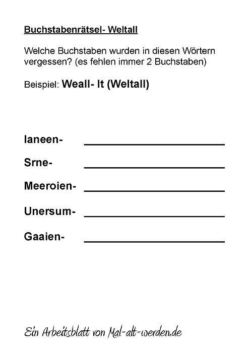 buchstabenraetsel-weltall