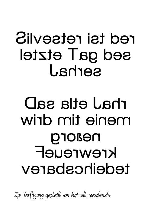 silvester-spiegelschrift