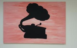 schattenbild-grammophon