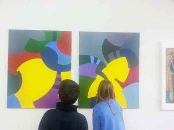 Malerei von Brigitte Blumschein, mal-atelier, Galerie TRIGON 2015