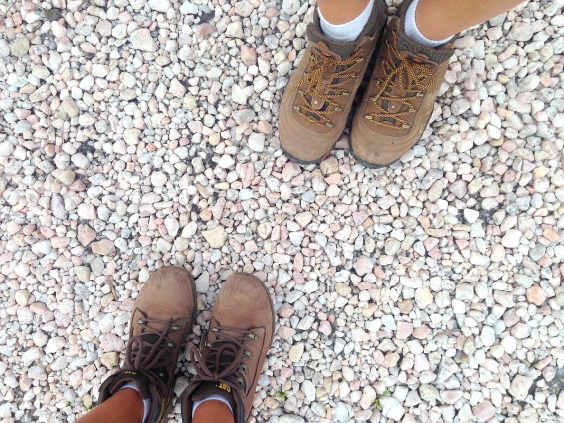 como escolher bota de trekking