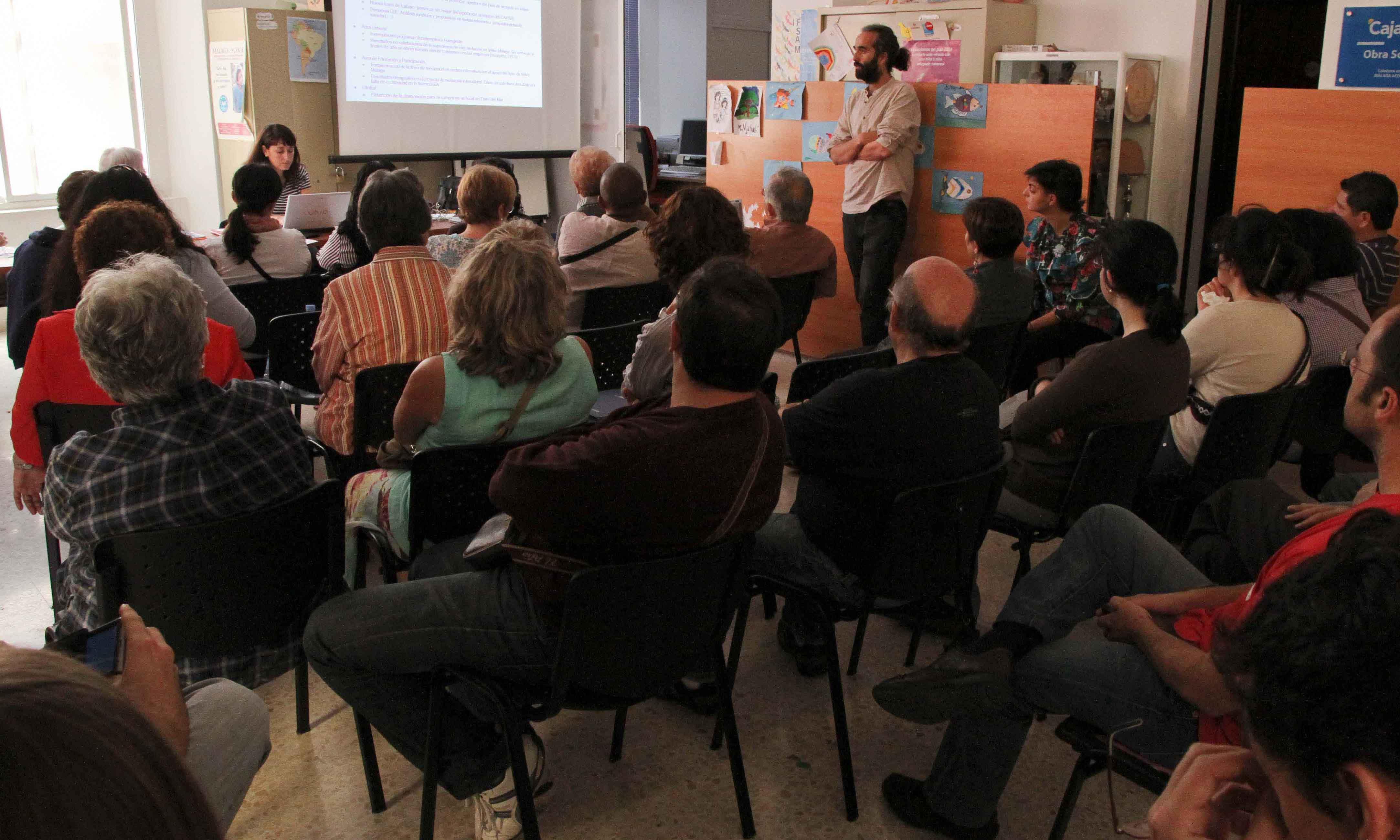 Convocatoria de la Asamblea anual de Málaga Acoge