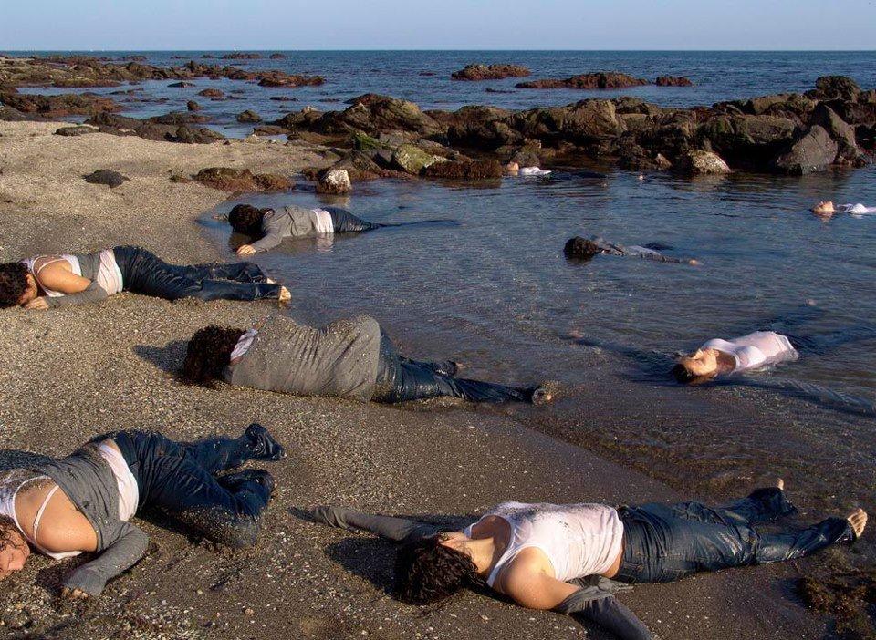 Concentración «Por el fin del Genocidio Migratorio en el Mediterráneo»