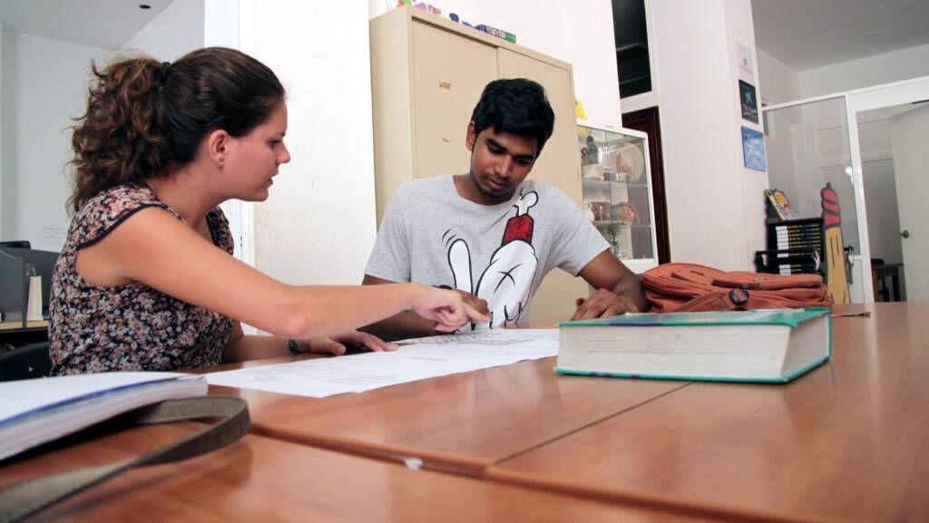 Ana Jiménez, voluntaria del Área de Educación