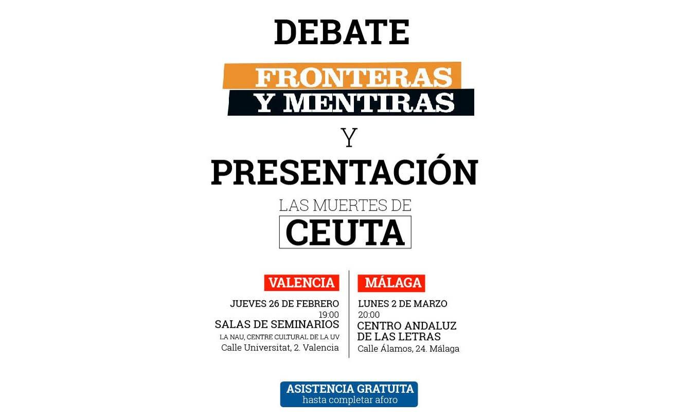 Eldiario.es presenta la revista 'Fronteras y Mentiras' en el Centro Andaluz de las Letras