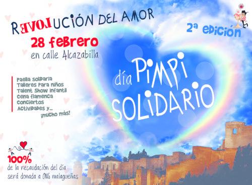 Málaga Acoge estará en el Día Solidario del Pimpi el 28 de febrero