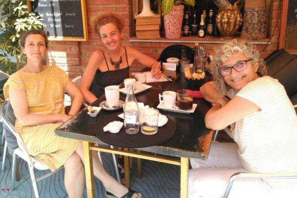 Afianzando lazos con voluntarias de Málaga Acoge en la Axarquía