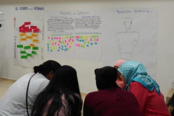 Dinamizadoras comunitarias para prevenir la violencia de género