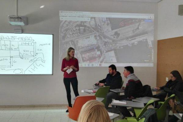 Alumnado de Arquitectura diseñará un espacio de acogida para migrantes en el Puerto