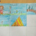 Niños y niñas refugiadas juegan a construir su futuro