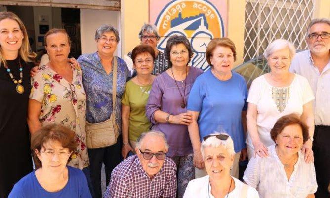 Termina con una fiesta el curso de español en Málaga