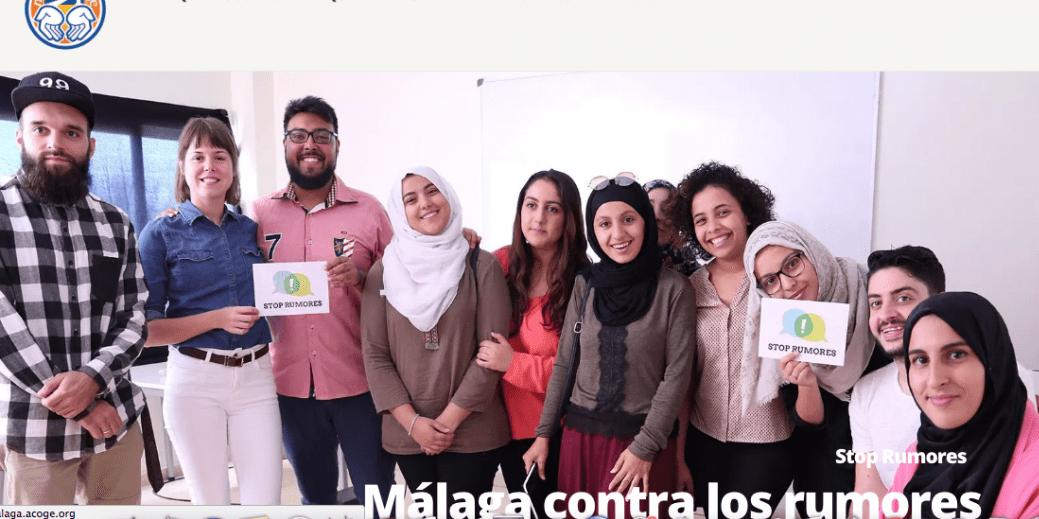 Estrenamos web en Málaga Acoge