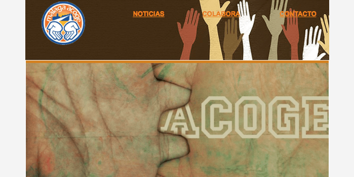 Octubre en Málaga Acoge: #AcogidaDignaYa en Málaga