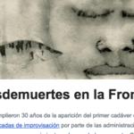 30 años de muertes en la Frontera Sur: nuestras noticias de noviembre