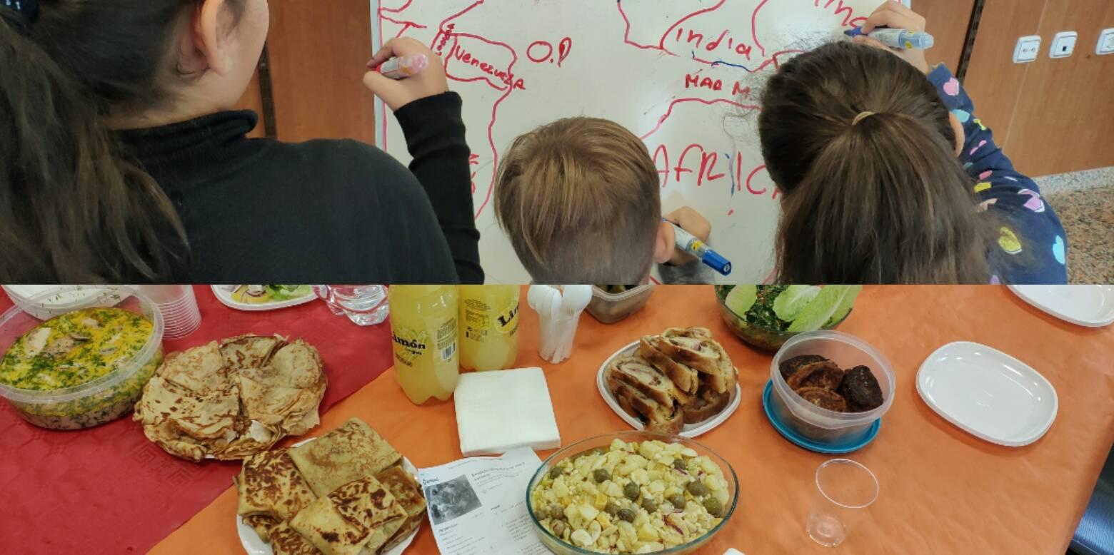Un refugio en la cocina: recetas e historias de familias solicitantes de asilo