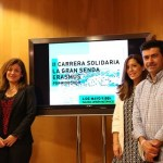 Estudiantes locales e internacionales de la UMA participarán en la II Carrera solidaria La Gran Senda Erasmus en Riogordo