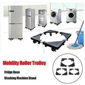 HEAVY APPLIANCE Wheels Mobility Roller Trolley Washing Machine Stand Fridge Base