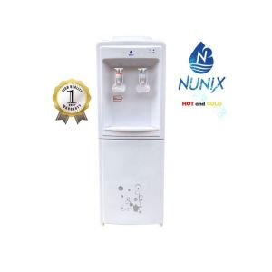 Nunix Hot and Normal Cold Free Standing Water Dispenser – White R5