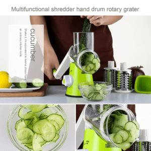 Rotary Shredder and Slicer