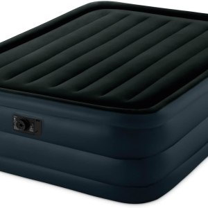 Dura-Beam Pillow Rest Raised Airbed with Internal Pump