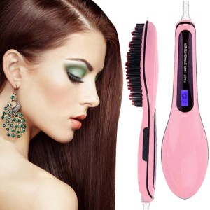 Electric Hair Straightener Comb Brush