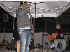 """""""The Waving Souls"""" lors d'un apéro-concert au Pré Gauchet en clôture des Z'Haubaneries"""