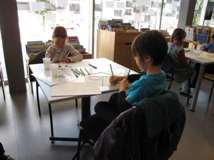 A l'Espace Lecture le 14 mai, atelier illustration avec Anne Crausaz