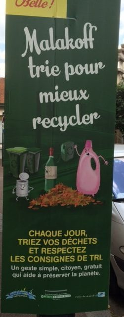 Malakoff trie pour mieux recycler