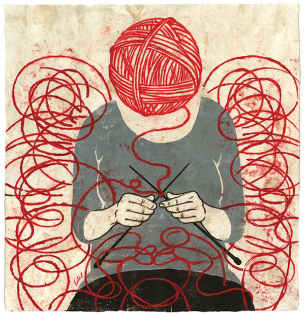 Knitting is the new yoga (1/2)