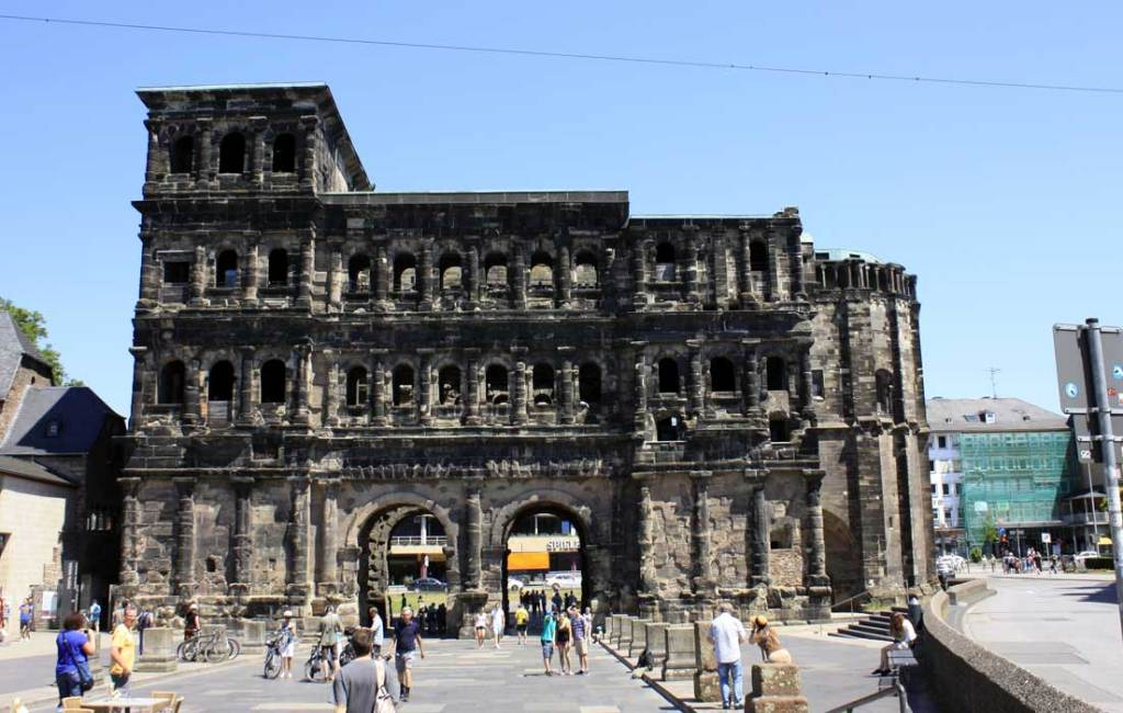 Porta nigra, arquitectura antigua de Tréveris