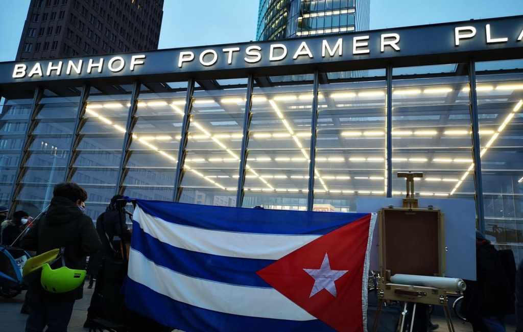 Cubanos en Berlín, Postdamerplatz