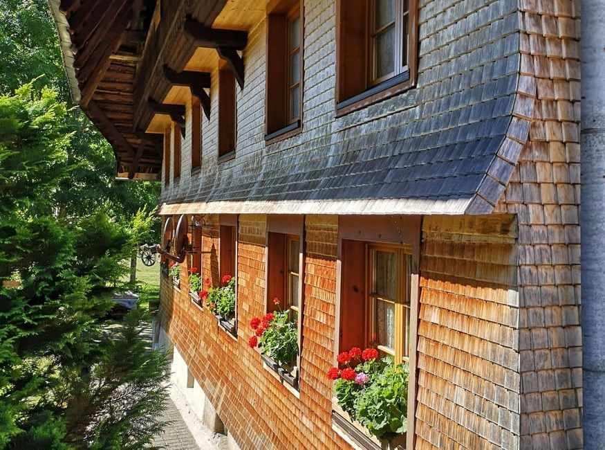 Arquitectura de madera en la selva negra