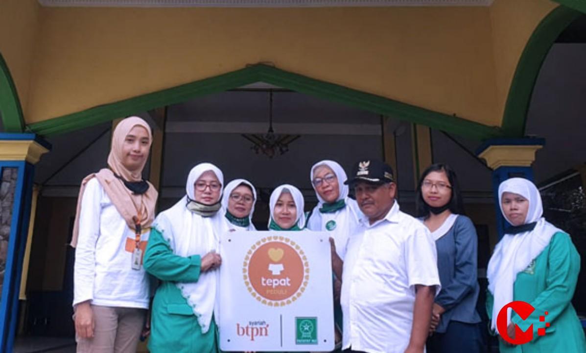 Foto : Fatayat NU Kab Malang serahkan bantuan MCK