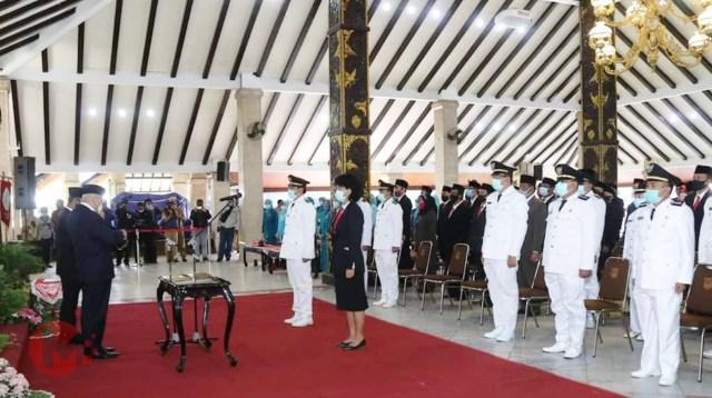 Foto : Bupati Malang lantik pejabat eselin III -IV