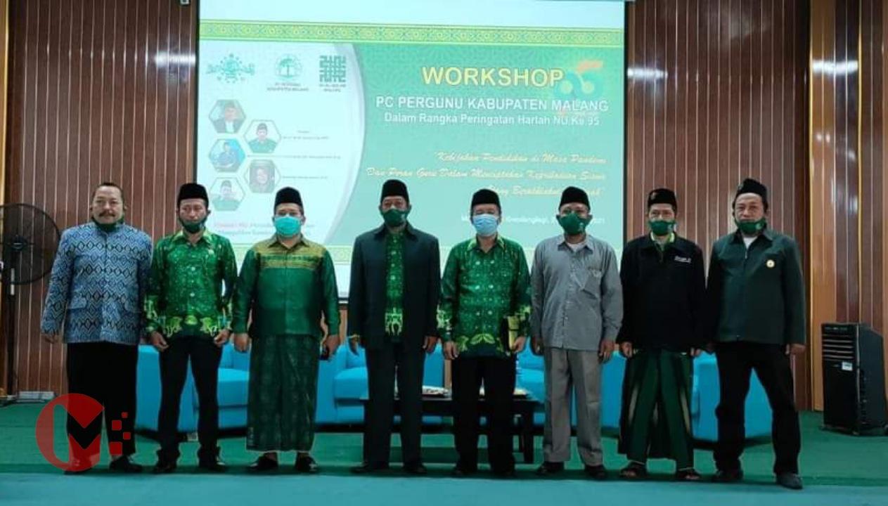 Foto : Pergunu kab malang gelar workshop peningkatan mutu tenaga pendidik
