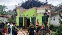 Foto : Rumah warga dikab malang yang terdampak gempa