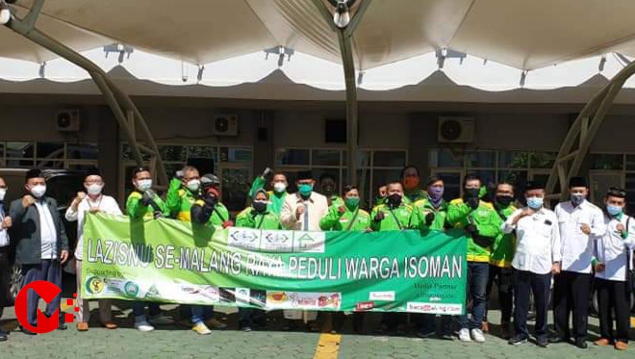 Foto : Rumah Sedekah NU Inisiasi Gerakan Peduli Isoman di Malang Raya