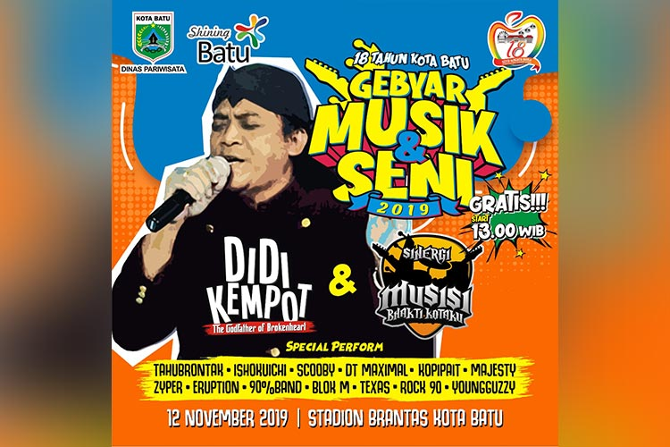 The Godfather Of Broken Heart Didi Kempot Akan Hibur Sobat Ambyar