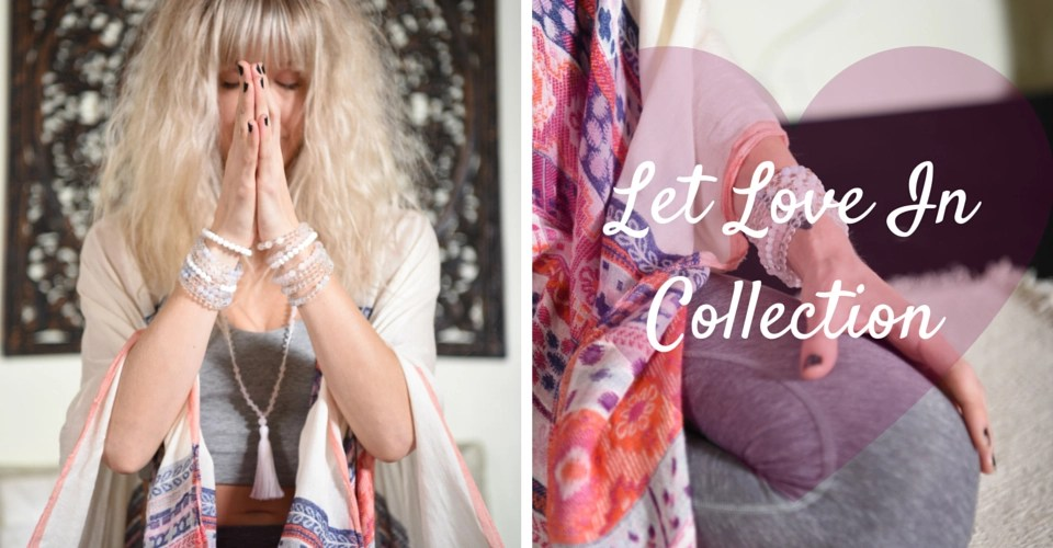The {LET LOVE IN} Collection is Here!