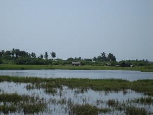 Fishing village malaria Ouidah