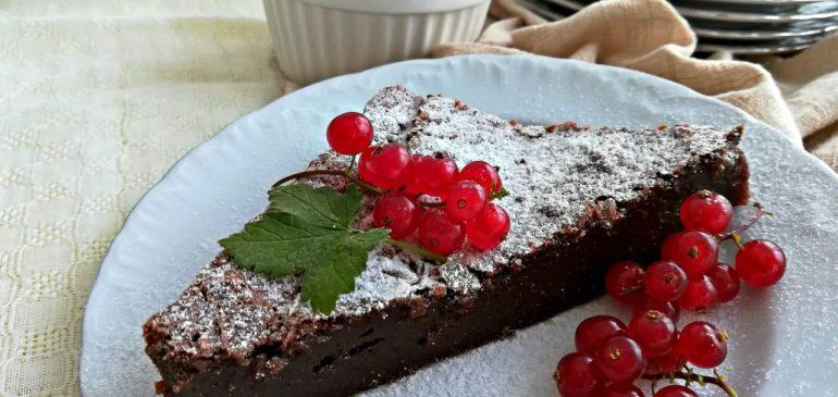 Čokoladni KOLAČ bez BRAŠNA – a la Caprese
