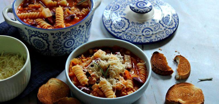 MINESTRONE – italijanska gusta supa