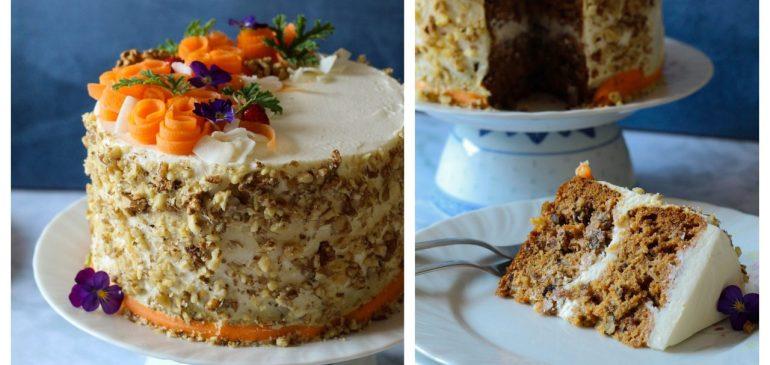 TORTA od ŠARGAREPE / CARROT CAKE