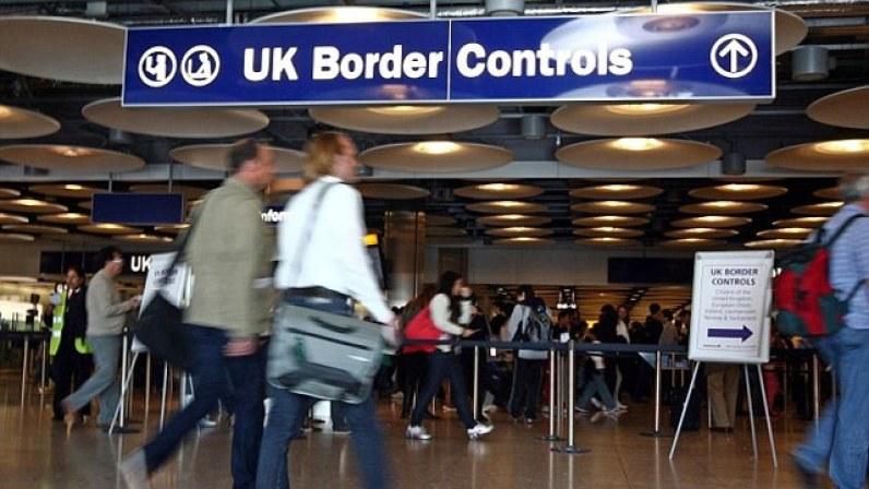 imigração em londres, imigração em heathrow, imigração no reino unido, imigração londres